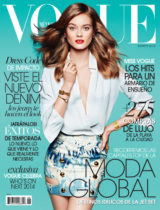 Vogue Mexico, August 2014, 1 of 2