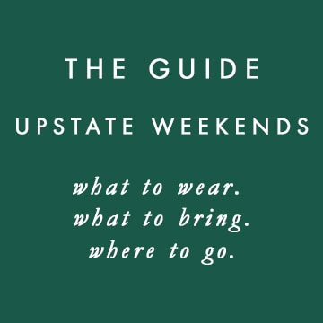 The Guide: Upstate Weekends