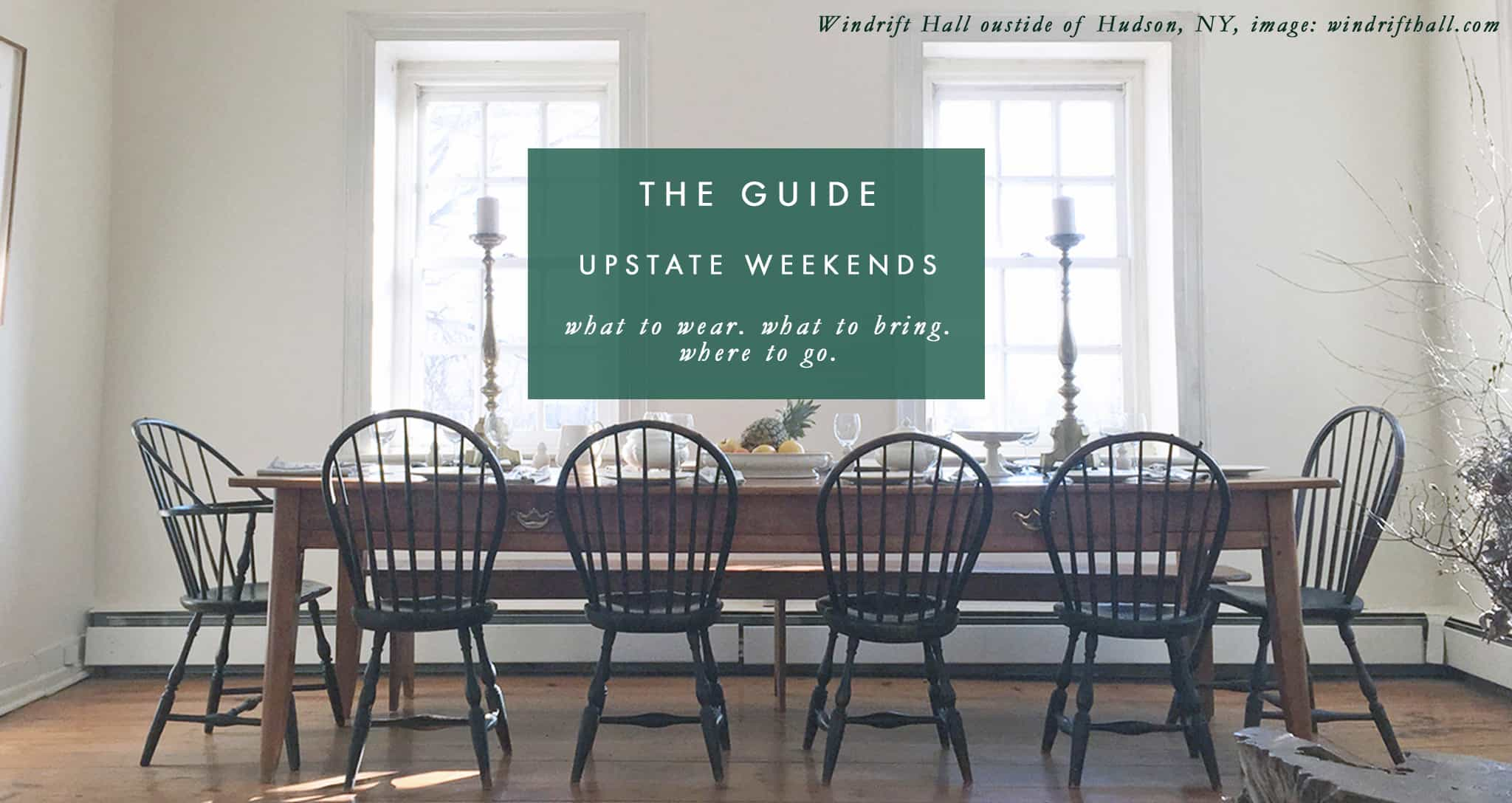 THE GUIDE: Upstate Weekends 18