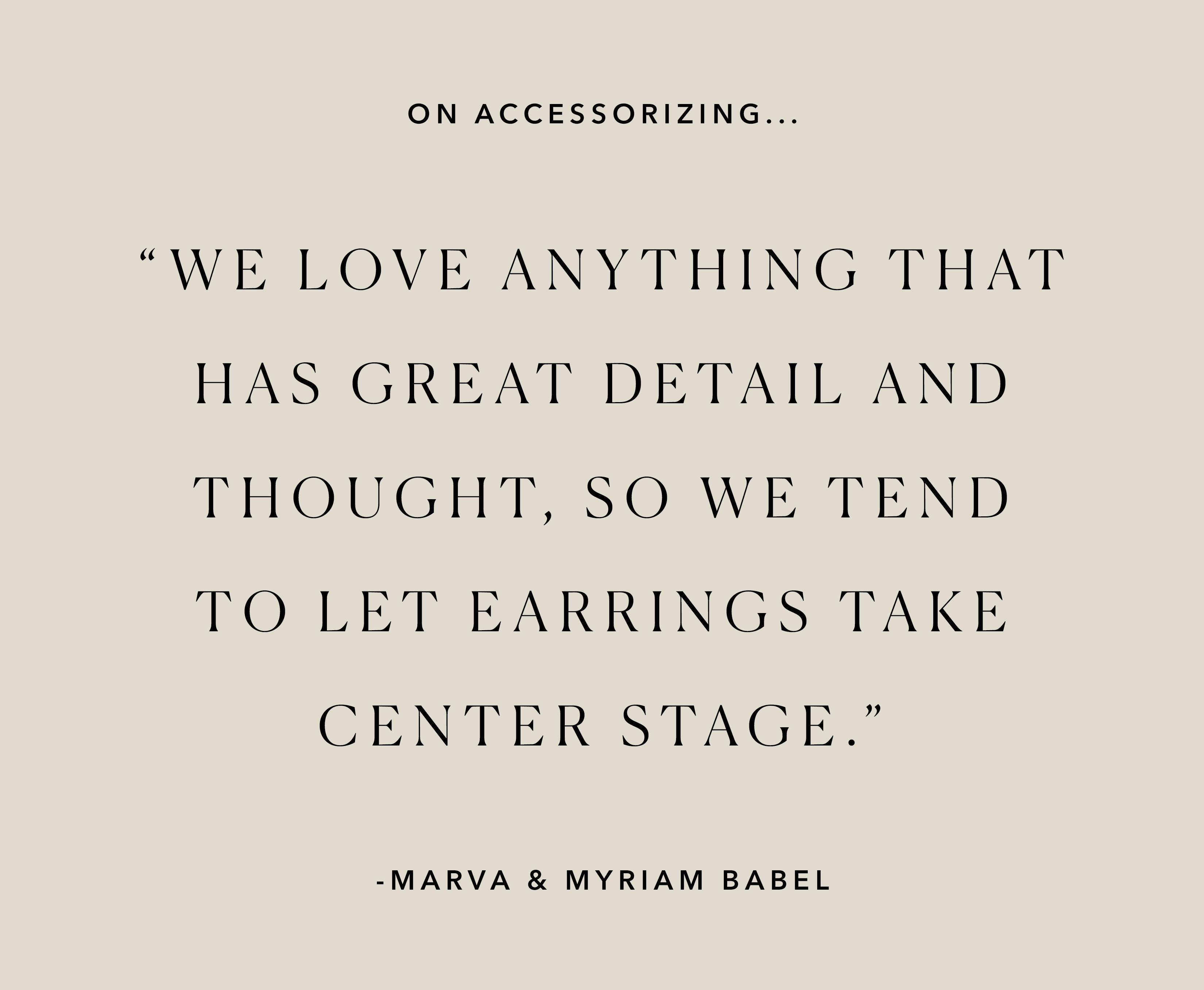 Friends For 10: Myriam and Marva Babel of Ode to Babel 4