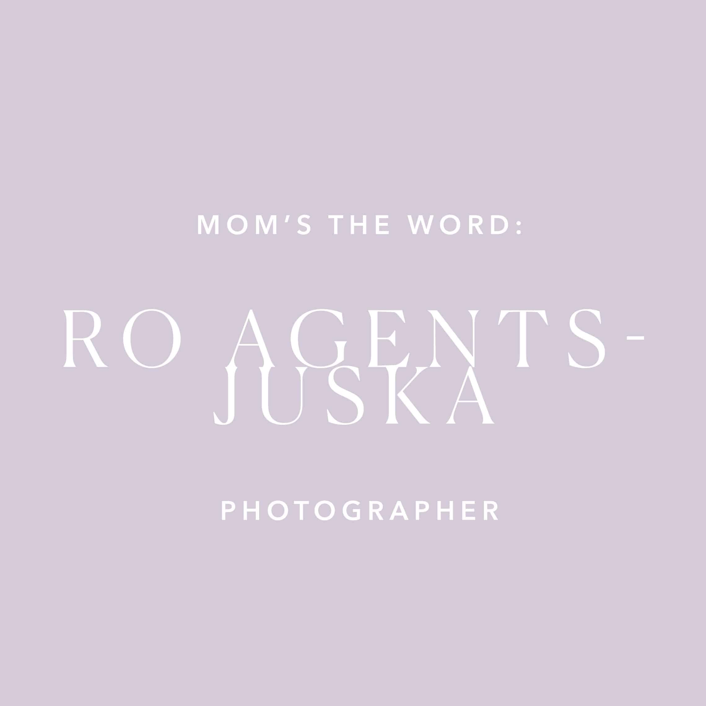 Mom's The Word: Ro Juska & Her Mama 1